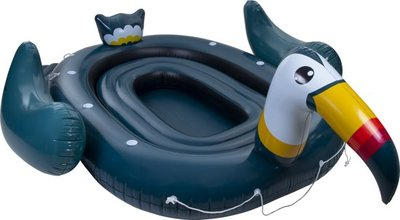 Mega Inflatable Island Toekan - 6 personen