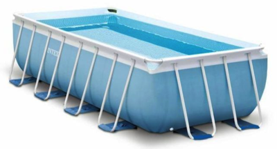 Intex Prism Frame Pool 488 x 244 x 107 zwembad