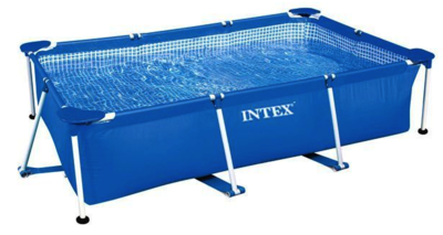Intex Metal Frame Pool 220 x 150 x 60 zwembad